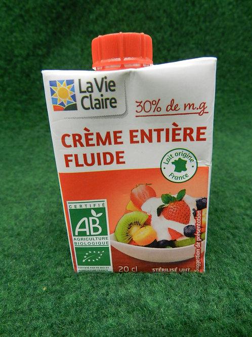 Crème entière 20cl