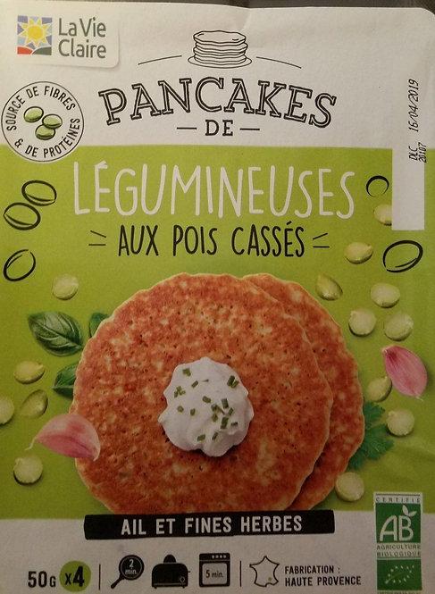 Pancake de Légumineuses aux Pois Cassés