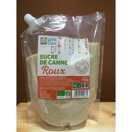 SUCRE DE CANNE ROUX 750G