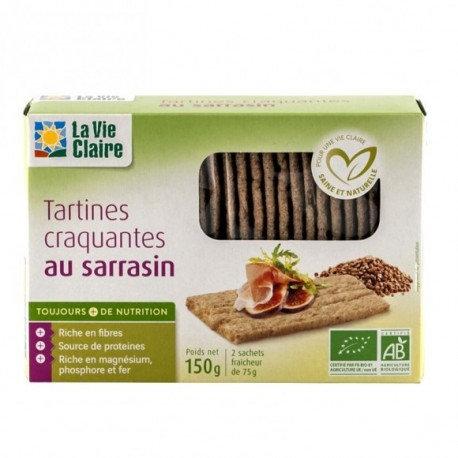 Tartines croquantes sarassin 150g la vie claire