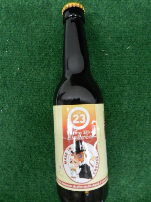 Bière ambrée bio 33 cl creuse
