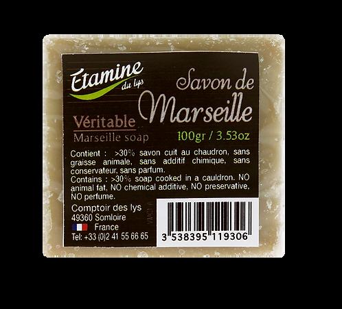 Savon de Marseille beige 300g étamines du lys