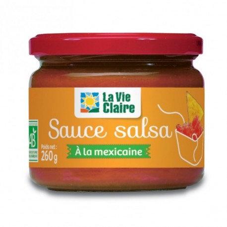 Sauce salsa bio