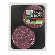 Steaks hachés charolais 5% de matière grasse