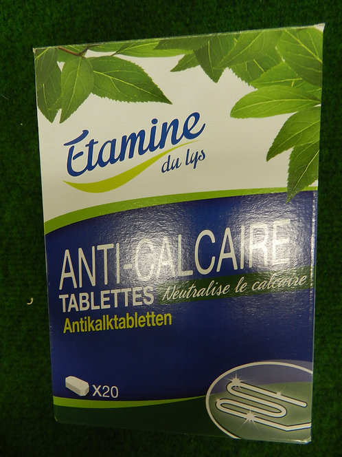 Tablette anti-calcaire X20
