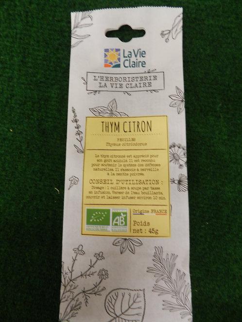 Thym citron La vie claire