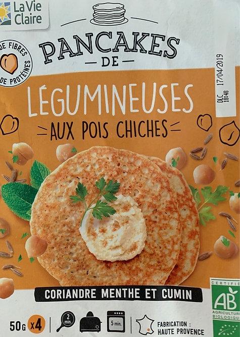Pancake de Légumineuses aux Pois Chiches