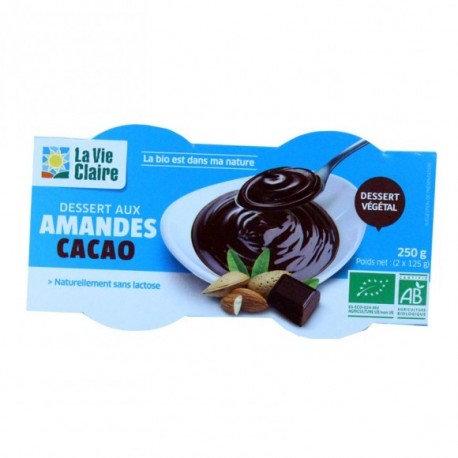 Dessert aux amandes cacao
