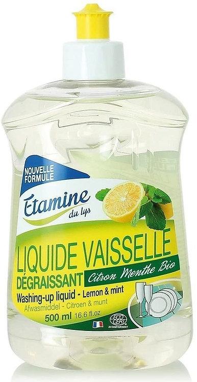 liquide vaisselle citron menthe 500ml Étamines du Lys