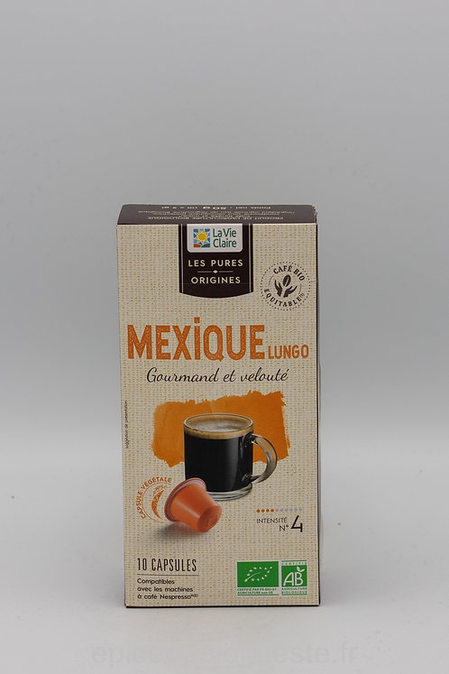 Capsule de café du Mexique