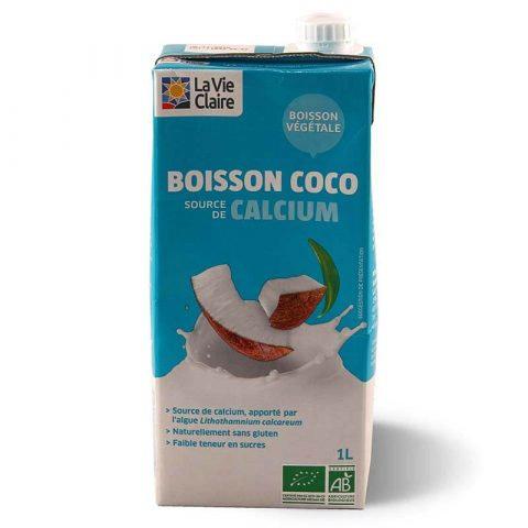 Boisson coco et calcium