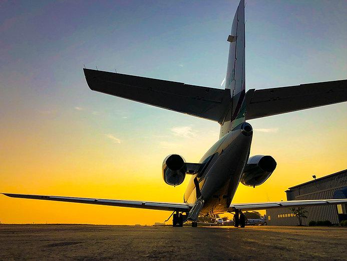 plane back