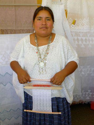 Amalia Gue, leader de la coopérative