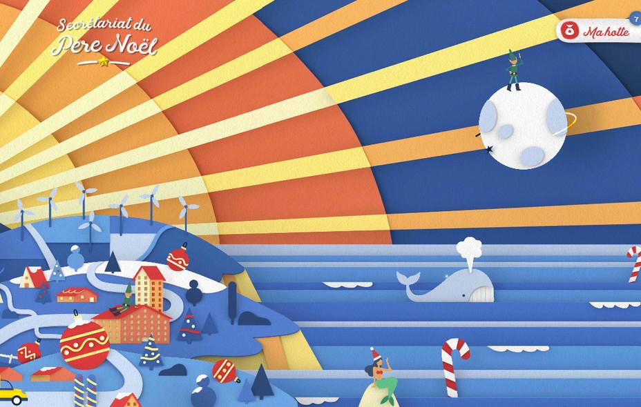 Le secrétariat du père Noël - La Poste - Website