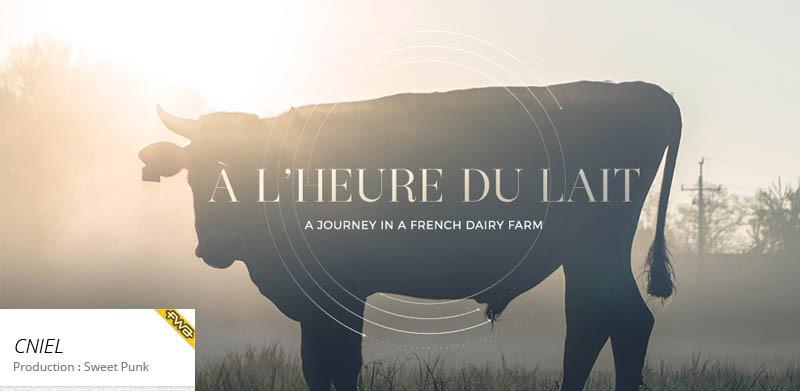 A l'heure du lait - CNIEL- Film
