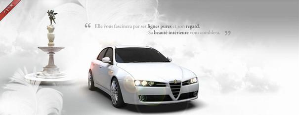 Alfa Romeo 159- website