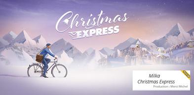 Christmas Express - Milka - website