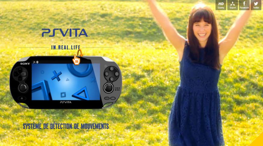 PS VITA - Film interactif