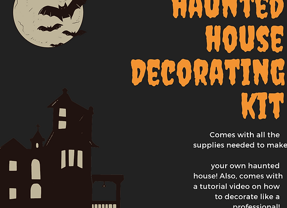 Haunted House Decorating Kit with Instructional Video