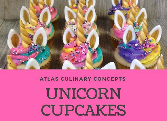 Unicorn Cupcake Decorating Kit