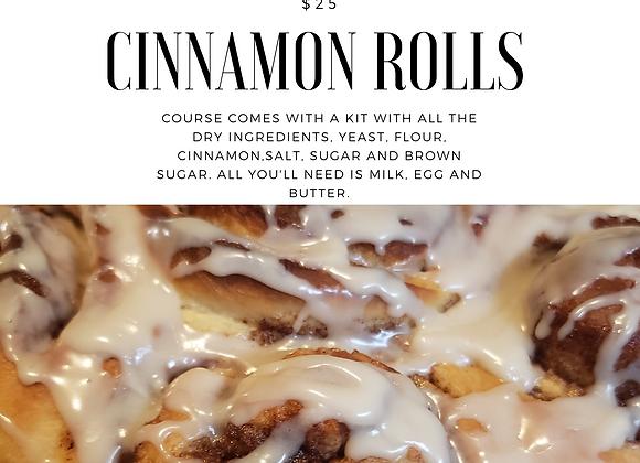 Cinnamon Rolls Course