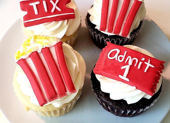 Movie Night Cupcake Decorating Kit
