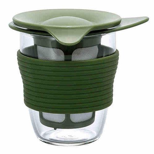 HARIO Handy Tea Maker (Green) 200ml HDT-M-OG