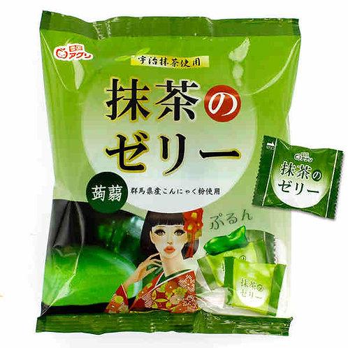YUKIGUNI AGURI Jelly Matcha green tea