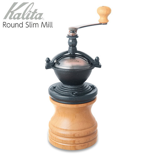 Kalita Round Slim Mill (Natural)