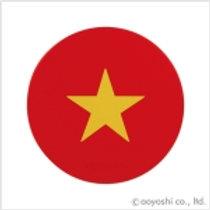 CP World Flag Coaster Vietnam 028380