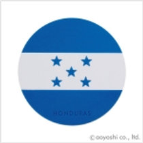 CP World Flag Coaster Honduras 028526