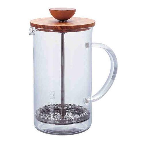 HARIO Tea-press wood 600ml THW-4-OV
