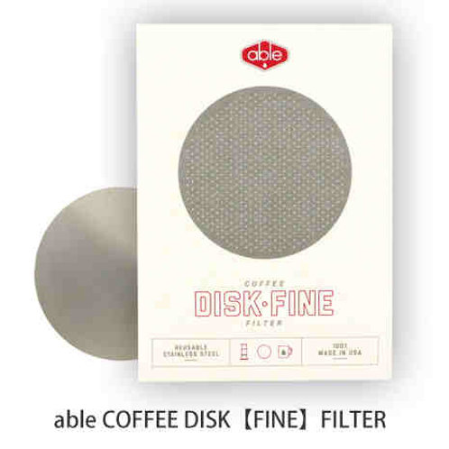 able COFFEE DISK FILTER for AeroPress (Fine)