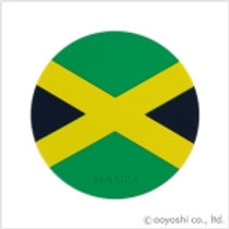 CP World Flag Coaster Jamaica 028069