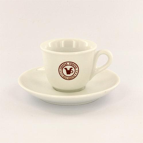 TONYA ORIGINAL espresso cup & saucer 100cc