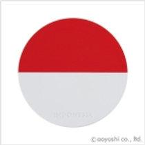CP World Flag Coaster Indonesia 028335