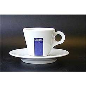 LAVAZZA Demitasse cup & saucer with logo