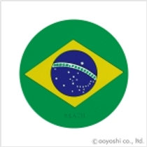 CP World Flag Coaster Brazil 027956