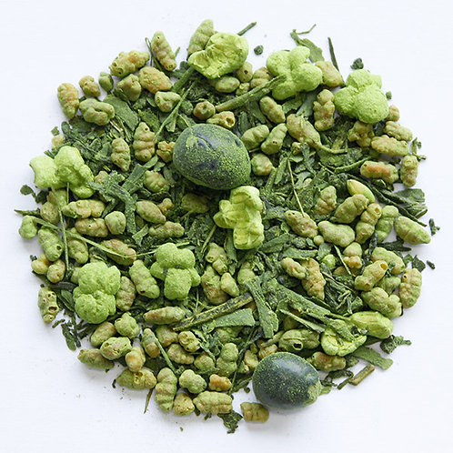 Tea with roasted rice and powdered green tea 25g
