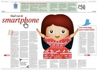 1 dag offline in Leidsch Dagblad