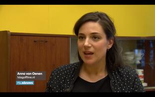 Reportage over smartphone verslaving in RTL Nieuws