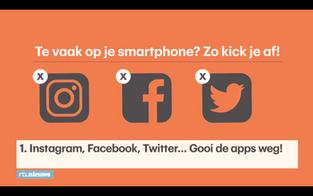 Smartphone afkick tips van 1 dag offline