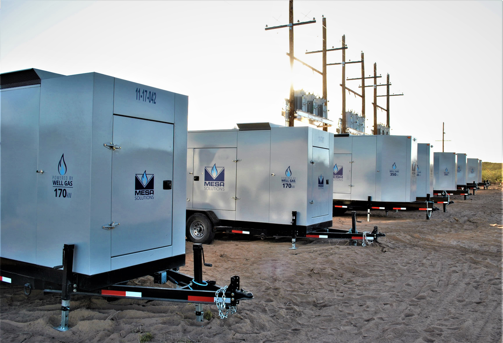 Natural Gas Generator | United States | Mesa Natural Gas Solutions