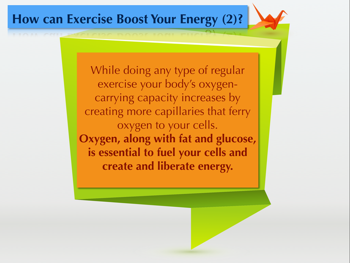 How can Exercise Boost Your Energy?