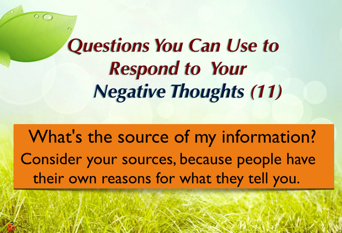 Question you can ask yourself (11)