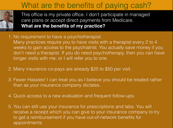 Benefits of paying cash
