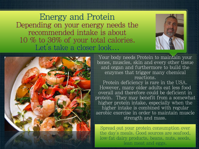 Energy and Protein