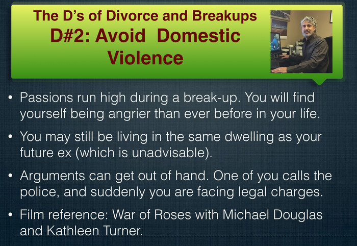 The D's of Divorce and Breakups