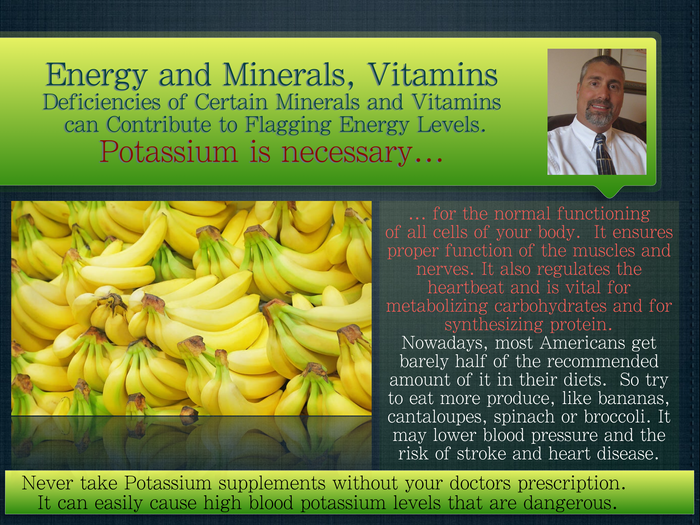 Energy - Minerals/Vitamins