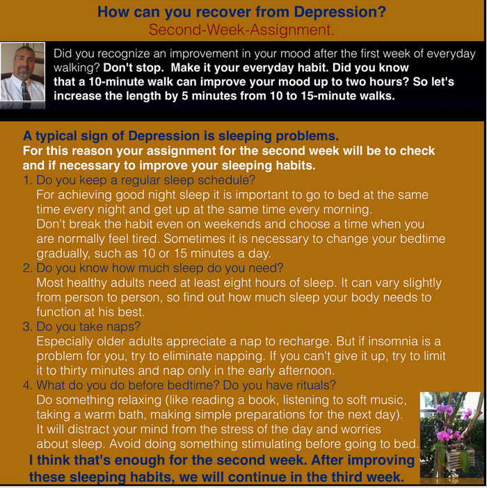 Recovery from Depression (2) - Healthy Sleeping Habits